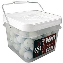 Nike 100-piece Recycled Golf Balls in a Free Bucket