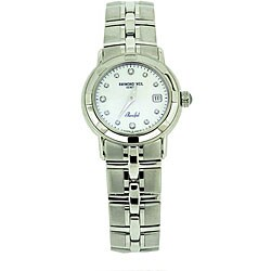 Raymond Weil Parsifal Women's Mother of Pearl Diamond Watch
