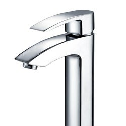 KRAUS Visio Single Hole Single-Handle Vessel Bathroom Vessel Faucet in Chrome - Thumbnail 2