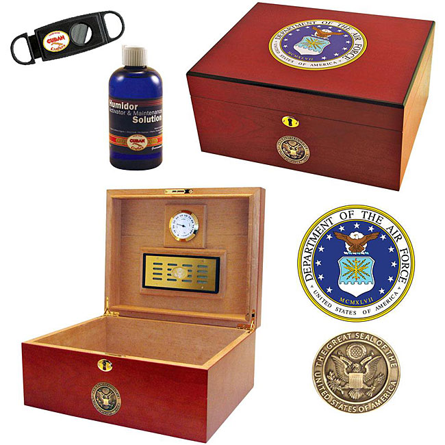 U.S. Air Force Edition Two Cigar Humidor