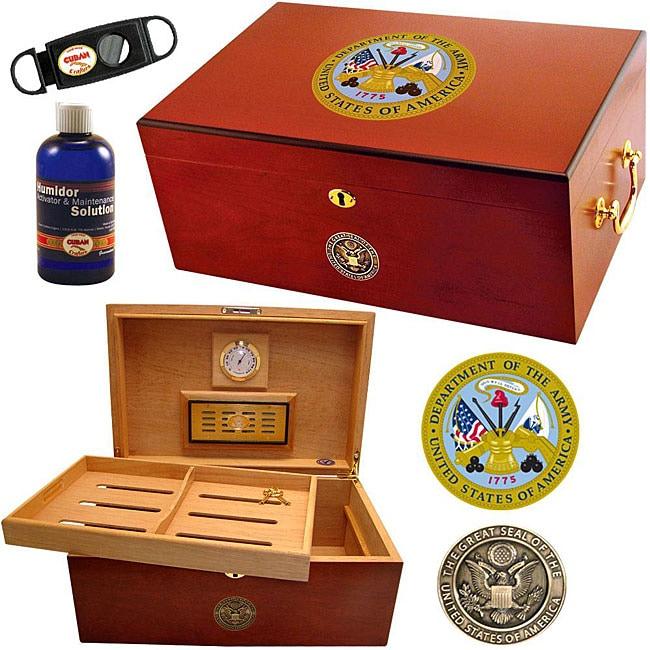 U.S. Army Cigar Humidor One