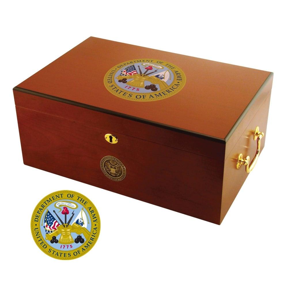 U.S. Army Cigar Humidor One - Thumbnail 1