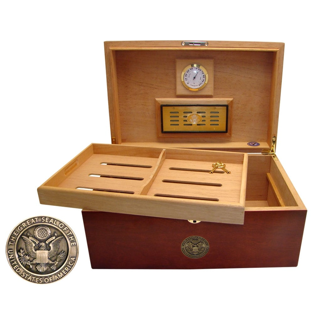U.S. Army Cigar Humidor One - Thumbnail 2