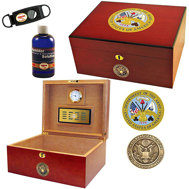 U.S. Army Cigar Humidor Two