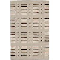 "Nourison Spectrum Hand-tufted Ivory Wool Rug - 3'6"" x 5'6"""