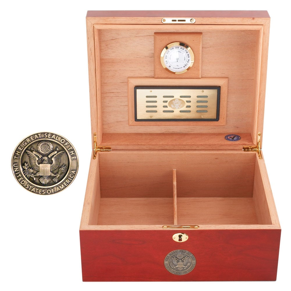 U.S. Navy Cigar Humidor Two - Thumbnail 2