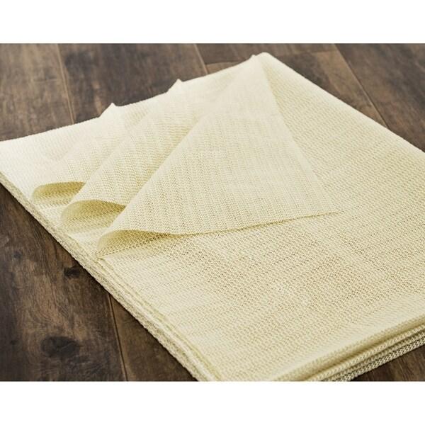 Safavieh Set of 2 Flat Non-Slip Rug Pad (2' x 4')