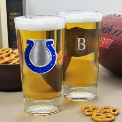Colts NFL Pint Glasses (Set of 2)