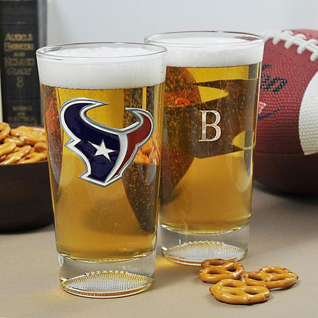 e5be3417a77 Shop Texans NFL Pint Glasses (Set of 2) - Free Shipping Today ...
