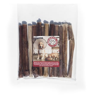 majestic thick 6 inch long bully sticks pack of 24 free shipping on orders over 45. Black Bedroom Furniture Sets. Home Design Ideas