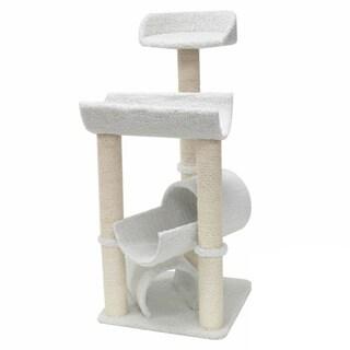 Majestic 44-inch Casita Cat Faux Sherpa Furniture Tree