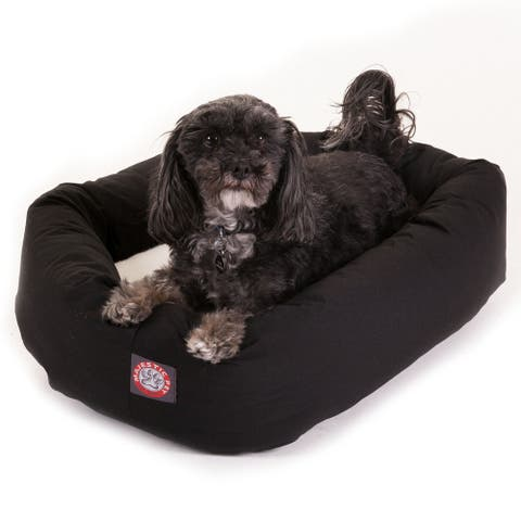Majestic Pet Bagel-style Black 24-inch Dog Bed