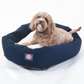 Majestic Pet Bagel-style Blue 32-inch Dog Bed