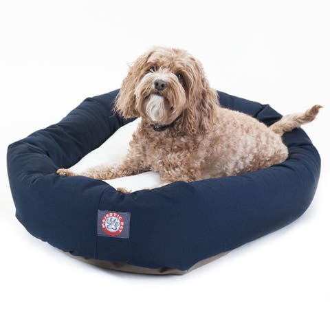 Majestic Pet Bagel-style Fabric Dog Bed