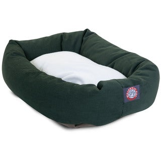 Majestic Pet Bagel-style Green 40-inch Dog Bed