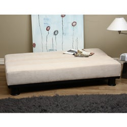 Cream Velvet - Look Sofa Bed - Thumbnail 1