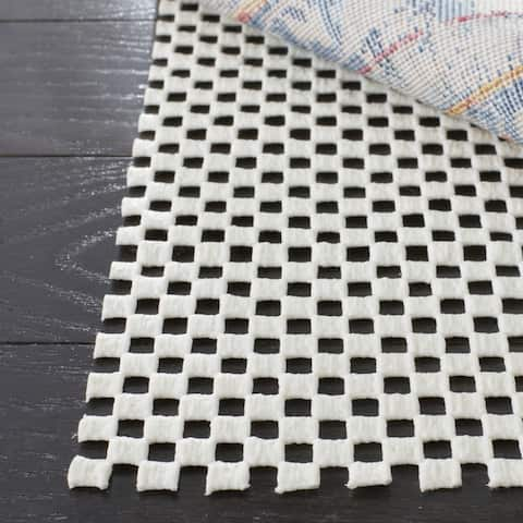 Safavieh Grid Non-slip Rug Pad - Off-White