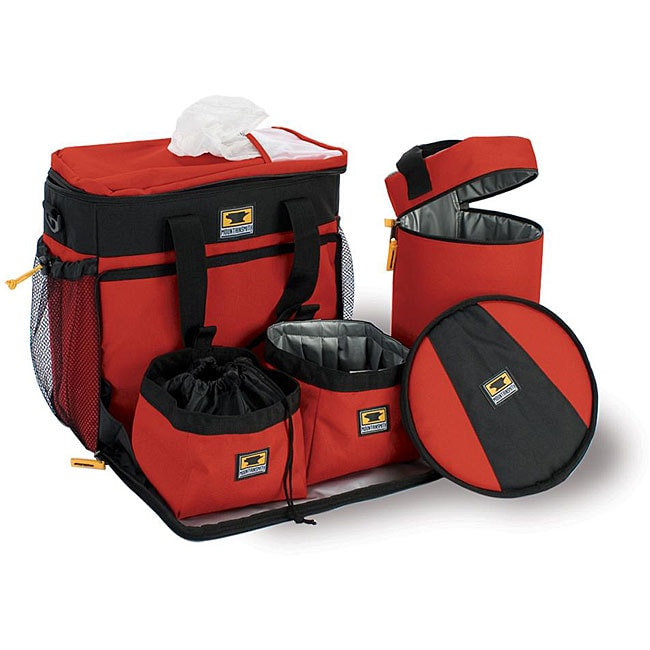 Mountainsmith K-9 Heritage Red Cube Daypack