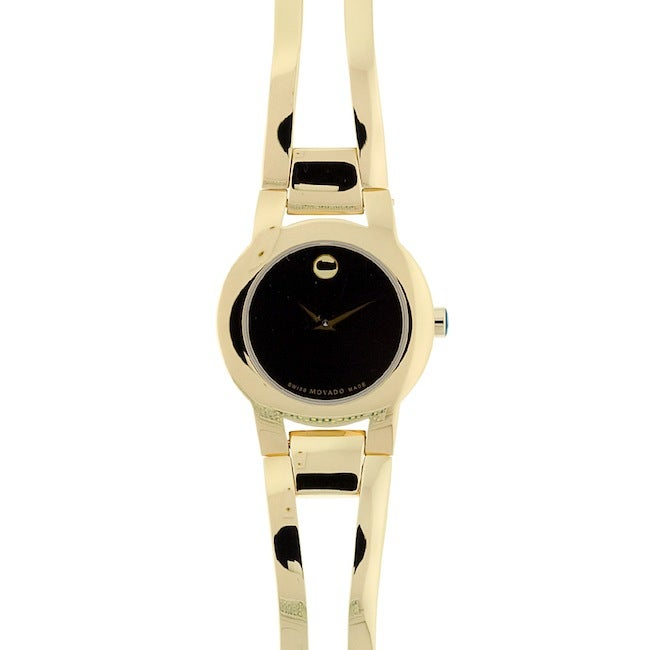 Movado Women's 604758 Amorosa Goldtone Watch