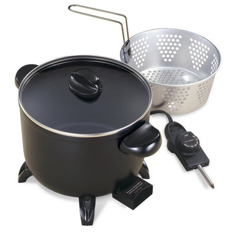 Presto Kitchen Kettle Black Multi-Cooker