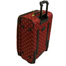 American Flyer Lyon Red 4-Piece Luggage Set - Thumbnail 1