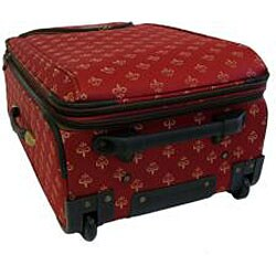 American Flyer Lyon Red 4-Piece Luggage Set - Thumbnail 2