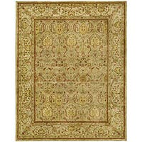 Safavieh Handmade Mahal Light Brown/ Beige New Zealand Wool Rug (6' x 9')
