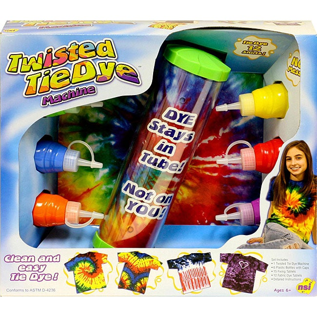 NSI Twisted Tie Dye Machine