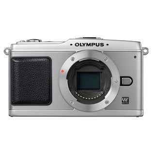 Olympus E-P1 12.3 Megapixel Mirrorless Camera Body Only - Silver