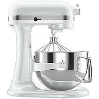 KitchenAid KP26M1XWH White 6-quart Pro 600 Bowl-Lift Stand Mixer