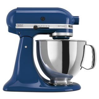 KitchenAid KSM150PSBW Blue Willow 5-quart Artisan Tilt-Head Stand Mixer