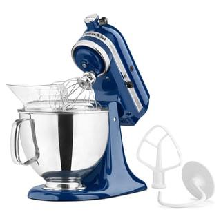 KitchenAid KSM150PSBW Blue Willow 5-quart Artisan Tilt-Head Stand Mixer
