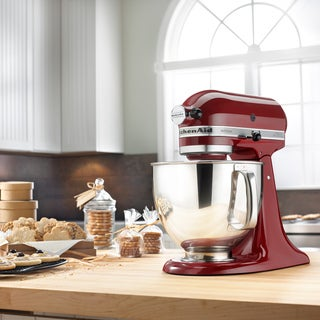 KitchenAid KSM150PSGC Gloss Cinnamon 5-quart Artisan Tilt-Head Stand Mixer with $50 Rebate