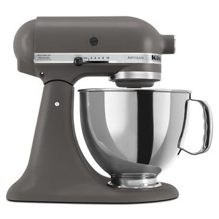 KitchenAid KSM150PSGR Imperial Gray 5-quart Artisan Tilt-Head Stand Mixer with $50 Rebate