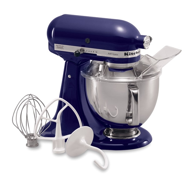 Marvelous KitchenAid KSM150PSBU Cobalt Blue 5 Quart Artisan Tilt Head Stand Mixer    Free Shipping Today   Overstock.com   12438446