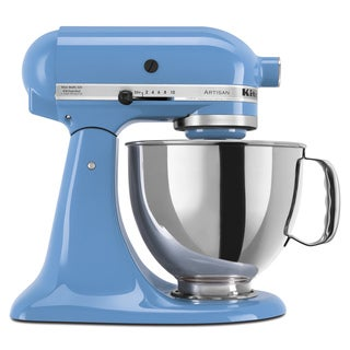 KitchenAid KSM150PSCO Cornflower 5-quart Artisan Tilt-Head Stand Mixer with $50 Rebate