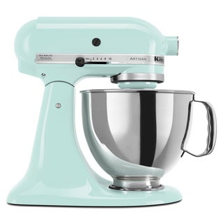 KitchenAid KSM150PSIC Ice 5-quart Artisan Tilt-Head Stand Mixer with $50 Rebate