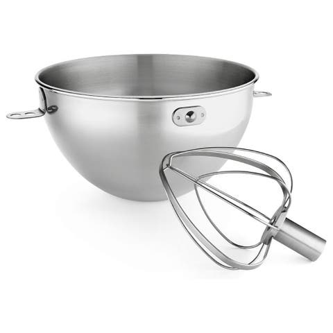 KitchenAid KN3CW 3-quart Stainless Steel Bowl and Combination Whip Set