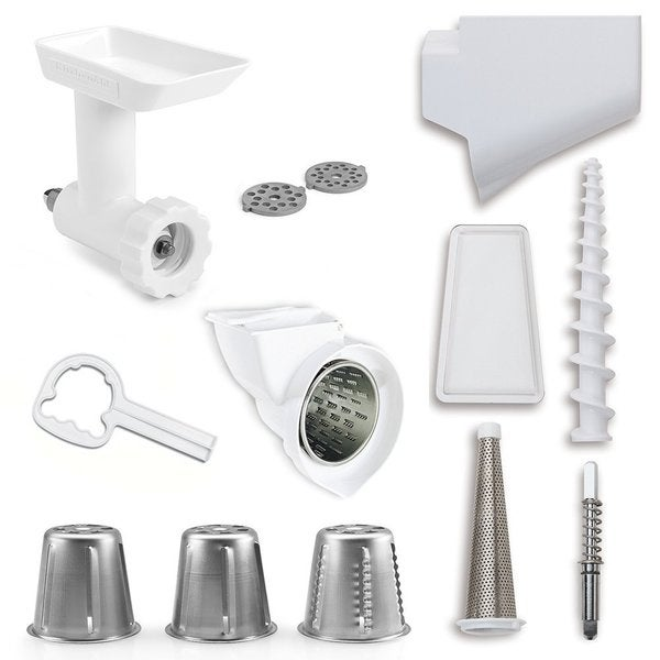 Kitchenaid Stand Mixer Accessory Set kitchenaid fppa mixer attachment pack for stand mixers - free