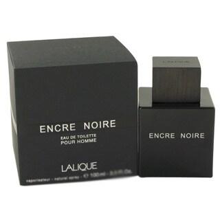 Lalique Encre Noire Pour Homme Men's 3.4-ounce Eau de Toilette Spray