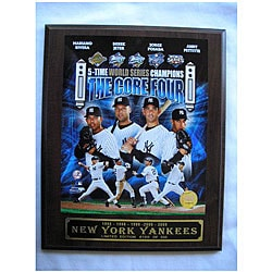 World Series Champion New York Yankees Core Four Picture Plaque