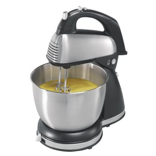 Hamilton Beach Stainless 6 Speed Hand and Stand Mixer