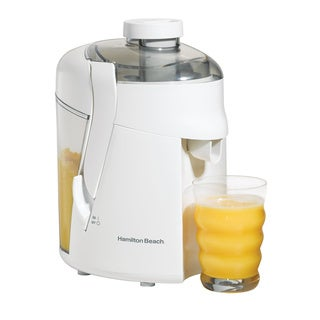 Hamilton Beach 67800 White 350-watt Juice Extractor