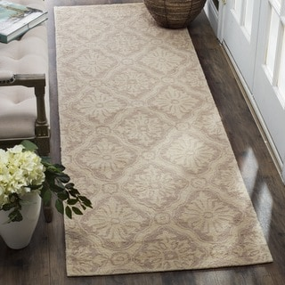 Safavieh Hand-hooked Lexington Ivory/ Cream Runner (2'6 x 10')