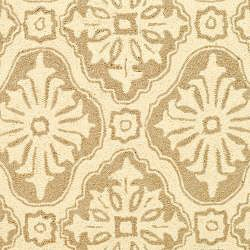 Safavieh Hand-hooked Lexington Ivory/ Cream Polypropylene Rug (3' x 5')