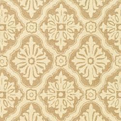 Safavieh Hand-hooked Lexington Ivory/ Cream Polypropylene Rug (6' x 9')
