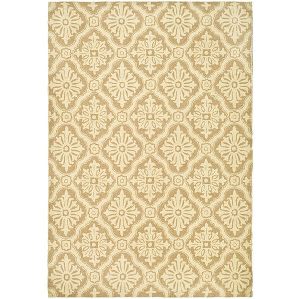 Safavieh Hand Hooked Lexington Ivory/ Cream Polypropylene Rug (6u0027 ...