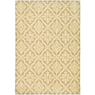 Safavieh Hand-hooked Lexington Ivory/ Cream Polypropylene Rug (4' x 6')