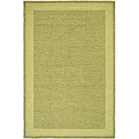 Safavieh Hand-hooked Easy Care Gabbeh Green Rug - 4' X 6'