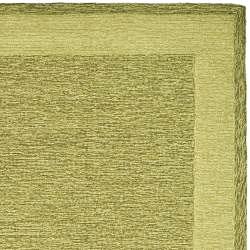 Safavieh Hand-hooked Easy Care Gabbeh Green Rug (6' x 9') - Thumbnail 1
